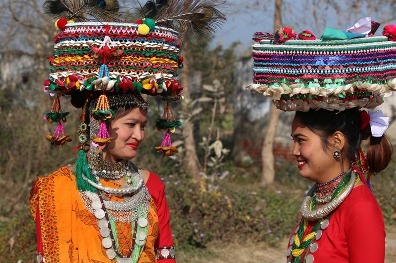 थारु जातिके पहिचान